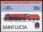St Lucia 1983 Leaders of the World - LOCO 100 i