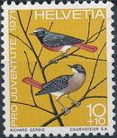 Switzerland 1971 PRO JUVENTUTE - Birds a