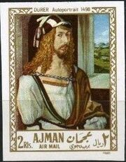 Ajman 1968 Paintings q