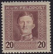 Austria 1917-1918 Emperor Karl I (Military Stamps) i