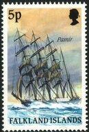 Falkland Islands 1989 Ships of Cape Horn e