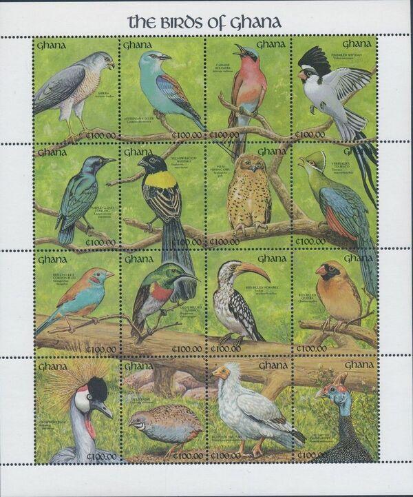 Ghana 1991 The Birds of Ghana w3