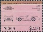 Nevis 1984 Leaders of the World - Auto 100 (1st Group) u