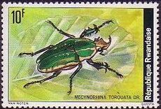 Rwanda 1978 Beetles h