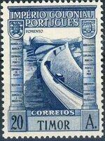Timor 1938 Portuguese Colonial Empire k