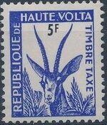Upper Volta 1962 Gazelle c