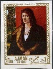 Ajman 1968 Paintings l