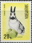 Albania 1967 Hares and Rabbits b