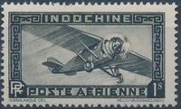 Indo-China 1933 Airmail - With Inscription RF k