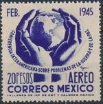 Mexico 1945 Inter-American Conference (Airmail) e