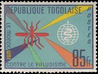 Togo 1962 Malaria Eradication d