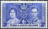Turks and Caicos Islands 1937 George VI Coronation c