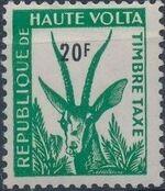 Upper Volta 1962 Gazelle e