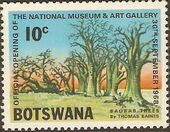 Botswana 1968 Opening of the National Museum and Art Gallery c