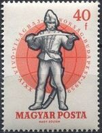 Hungary 1959 24th World Fencing Championships d