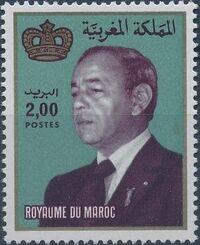 Morocco 1983 King Hassan II c