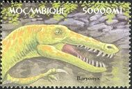 Mozambique 2002 Dinosaurs q