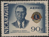 Nicaragua 1958 17th Convention of Lions International of Central America (Air Post Stamps) c