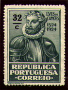 Portugal 1924 400th Birth Anniversary of Camões m
