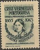 Portugal 1943 - Red Cross - Cinderellas Cinderella b