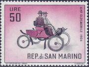 San Marino 1962 Automobiles (pre-1910) k
