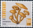 Switzerland 1994 PRO JUVENTUTE - Christmas Candles and Mushrooms d