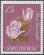 Albania 1967 Roses d
