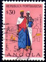 Angola 1957 Indigenous Peoples of Angola e