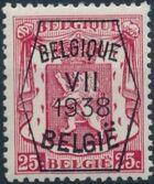 Belgium 1938 Coat of Arms - Precancel (7th Group) c