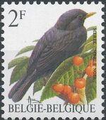 Belgium 1992 Birds (B) b