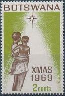 Botswana 1969 Christmas b