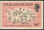 Falkland Islands 1981 18th Century Maps and Charts of the Falkland Islands f