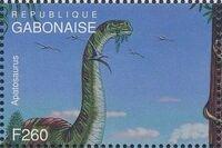 Gabon 1995 Prehistoric Wildlife z