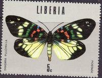 Liberia 1974 Tropical Butterflies c