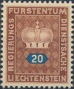 Liechtenstein 1950 Crown c