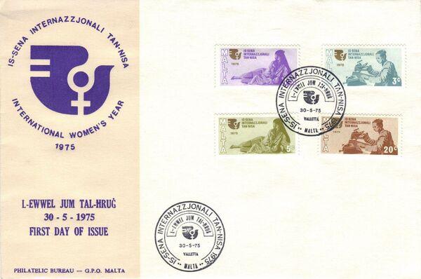 Malta 1975 International Women's Year g