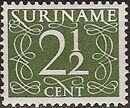 Surinam 1948 Numerals d
