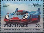 Tuvalu-Funafuti 1985 Leaders of the World - Auto 100 (2nd Group) l