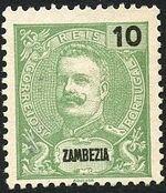 Zambezia 1898 D. Carlos I c
