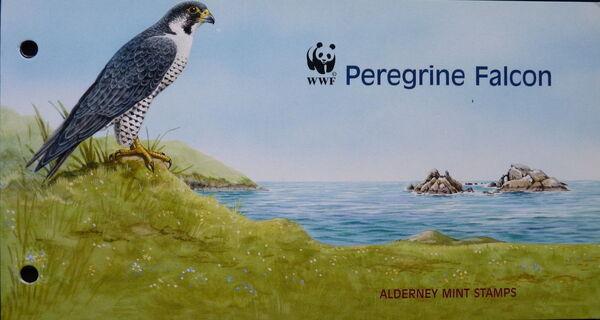 Alderney 2000 WWF Peregrine Falcon PPa