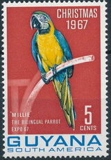 Guyana 1968 Christmas 1967 With New Colors a
