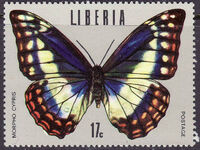 Liberia 1974 Tropical Butterflies d
