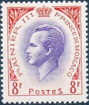 Monaco 1955 Prince Rainier III b