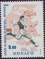 Monaco 1986 World Cup Football Championships a
