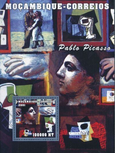 Mozambique 2001 Paintings - Pablo Picasso SSd