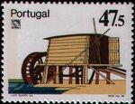 Portugal 1986 LUBRAPEX - Watermills b