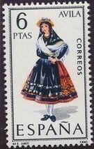 Spain 1967 Regional Costumes Issue e