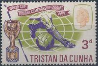 Tristan da Cunha 1966 World Cup Soccer a