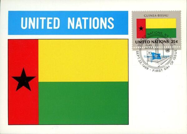 United Nations-New York 1989 Flag Series MCk