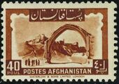 Afghanistan 1951 Monuments and King Zahir Shah (I) h